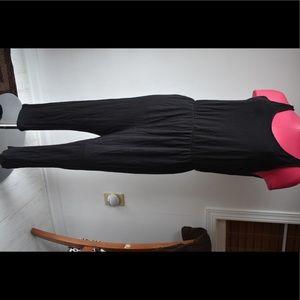 Black romper jumpsuit